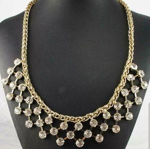 New Pretty Necklace w/ Intricate Rhinestone Design